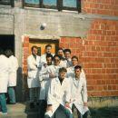 studenti 2 godine veterinarskog fakulteta u Zagrebu, proljeće 1991.g
