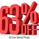 63% popusta na vsa oblačila in obutev skupaj