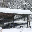 V sosedstvu pravi, ponosni, slovenski kozolec