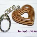 obeski za ključe, srce za vaše srce