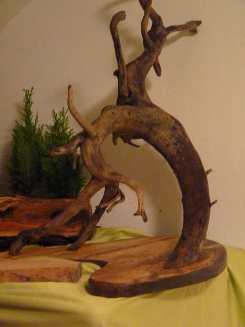 Unikatne lesene skulpture - foto