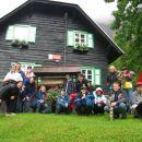 Pohodniška skupina v Kranjski Gori 2012