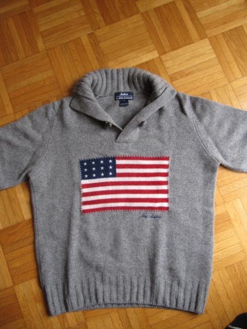 Volnen pulover John Ashfield, velikost S