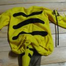 Pustni kostum čebelica