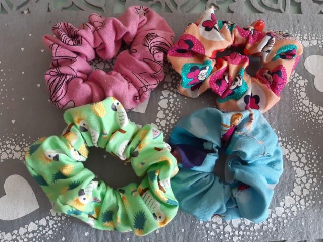 * elastike za lase Scrunchies* - foto