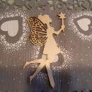 ** lesene dekoracije za tortico **