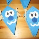 zmajčki iz papirja