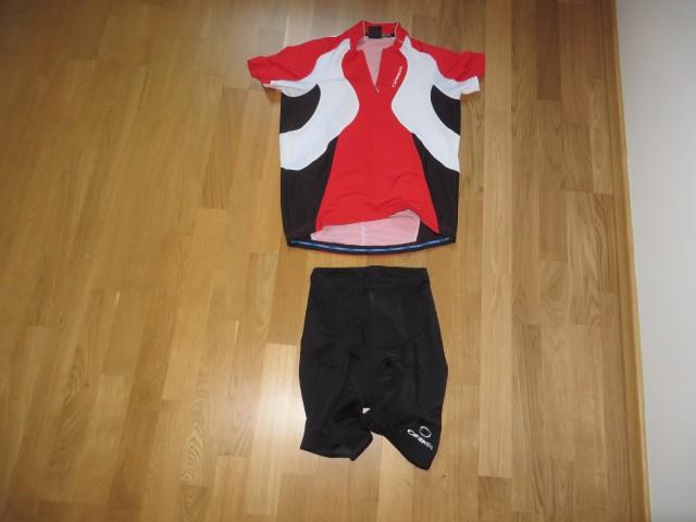 Moški kolesarski dres; št. M, cena po dogovoru