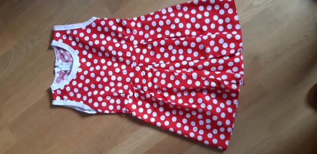 Poletna oblekca; št. 116/122; cena 3 €