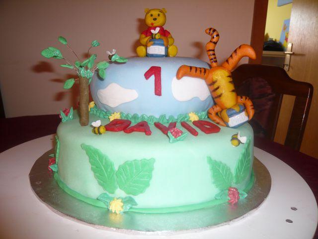 Torta Medvedek Pu