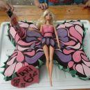 torta metuljčica Barbie