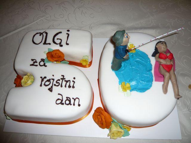 Torta za 50 let (abraham)