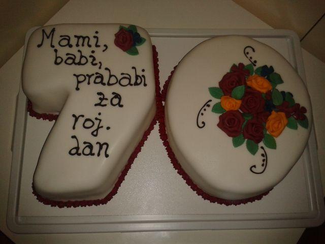 Torta za 70 let