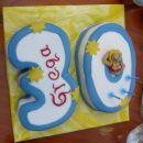 torta za 30. rojstni dan