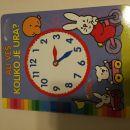 Otroška poučna knjižica Ali veš koliko je ura