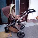 Otroški voziček Jane Muum 3 v 1 ohranjen