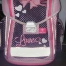 Šolska torba za deklico za prvo triado 15 eur