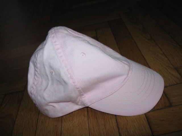 roza kapa s šiltom H&M vel.86/98 (1 - 3 leta), 3€