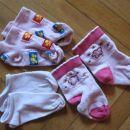 3.komplet nizkih nogavic št.23 - 24, 2€ kpl