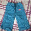 turkizne žametne hlače Little Star, št.86, 1,5€