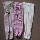2.kpl.hlačnih nogavic/žab za punco vel.86/92, €2,5 kpl