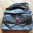 rjavo siva torba Zara, 8€, nova cena 6,5€