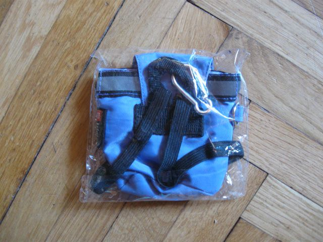 Nerabljena drobižnica v obliki nahrbtnika 3€