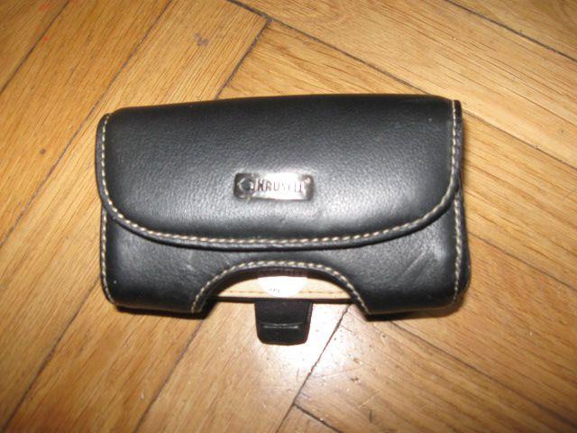 Usnjen etui Krusell za manjši telefon ali MP3 predvajalnik, 6€