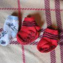 9.komplet zimske nogavice št21-23 (za 9cm nogico), 0,5€ kpl