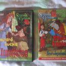 risanki iz zbirke Simsala Grimm: Trnuljčica in Rdeča kapica, 2€ kos (3€ kpl)