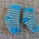 Termo zokenčki modre barve, vel. 62/68