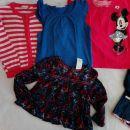 Komplet poletnih in prehodnih oblačil v št 92