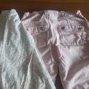 Hm hlače 116 + majčka, komplet 8€