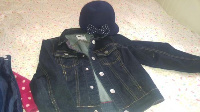 Okaidi jakna 116, kapa HM,   15€