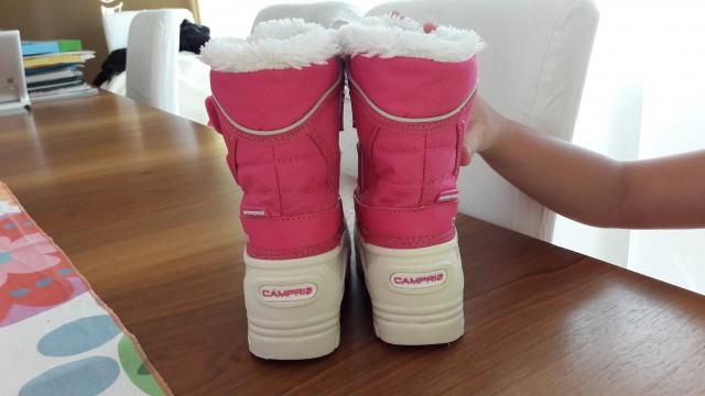 Nepremočljivi zimski  škornji 26   Campri 9   10€