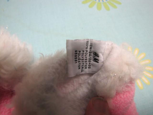Zimske rokavičke HM  flis 86-98, 2€