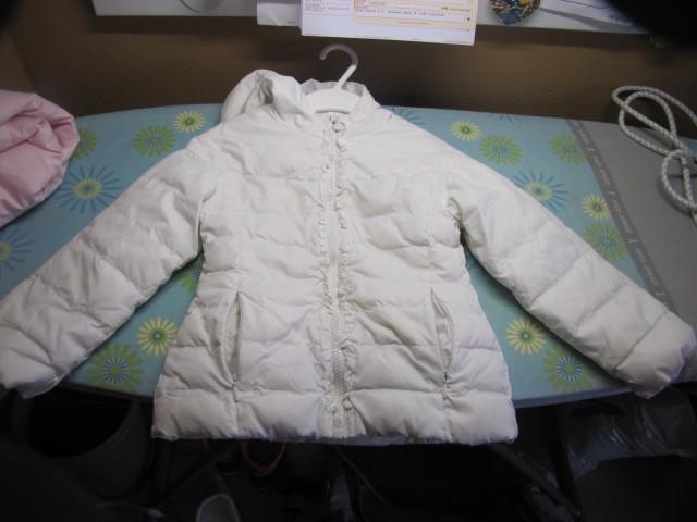 Zimska prehodna bunda  OVS bela, 104, 5€