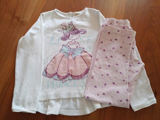 OVS pižama 5-6let    5€