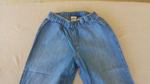 HM hlače tanjši jeans 92, 3€