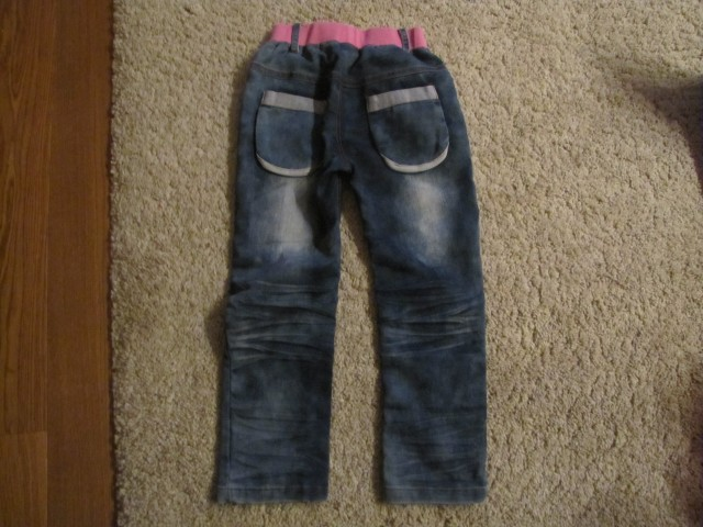 Hlace jeans  vel. 4,    2€