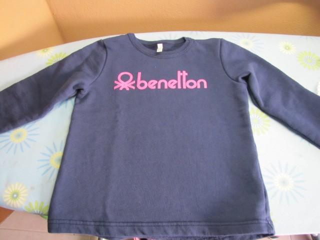 Trenirka Benetton pulover 110 (4-5), 3€