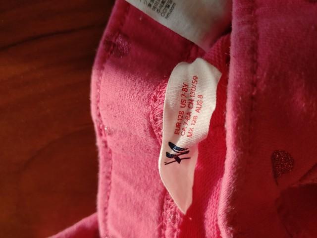 HM hlače pajkice 122 128   3€