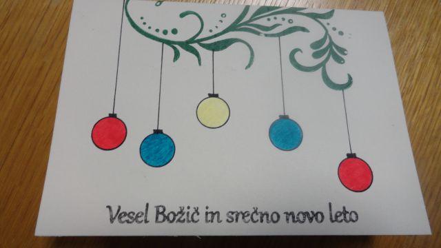 Božično-novoletne voščilnice 2013 - foto