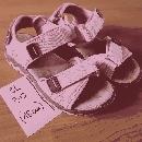 sandali, št. 30; 5€