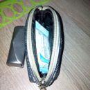 Toaletna torbica z etuijem za šminko