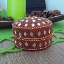 Okrogla škatljica za nakit