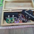 Lesena škatljica za nakit