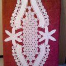 Kvačkan prt cca. 50 x 120 cm