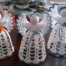 Kvačkani angeli 15 cm