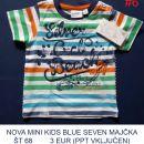 NOVA MINI KIDS BLUE SEVEN MAJČKA ŠT 68         3 EUR (PPT VKLJUČEN)